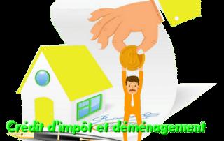 crédit d'impôt et déménagement