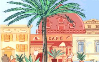 déménagement pour la ville de Nice
