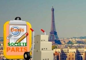 devis société parisienne déménagement