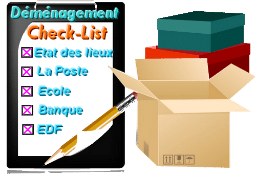 check list déménagement