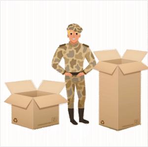 demenagement militaire