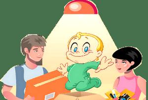 comment déménager avec un bébé