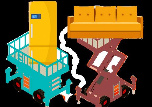 Comment déménager sans ascenseur