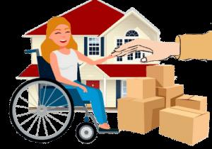 Aides au déménagement des personnes handicapées