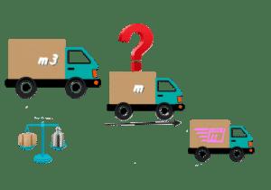 modèle camion déménagement