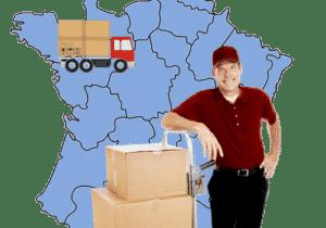 déménagement longue distance avec déménageur