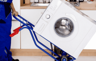 déménagement machine à laver