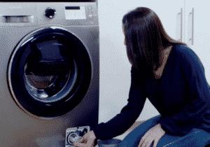 préparer une machine à laver au déménagement