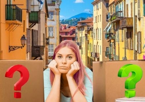 dans quel quartier s'installer moins cher à Nice