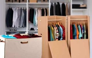 la bonne méthode pour déménager ses vêtements