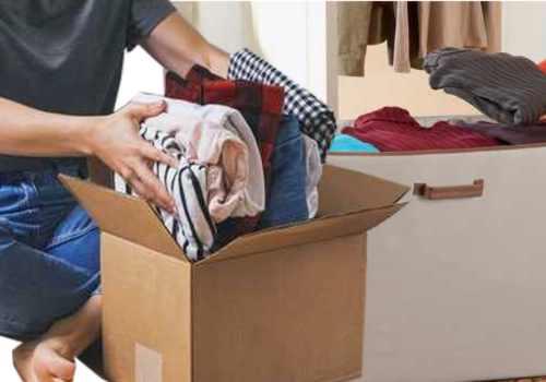 préparer ses vêtements pour déménager