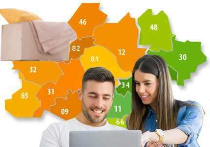 service en ligne déménagement occitanie