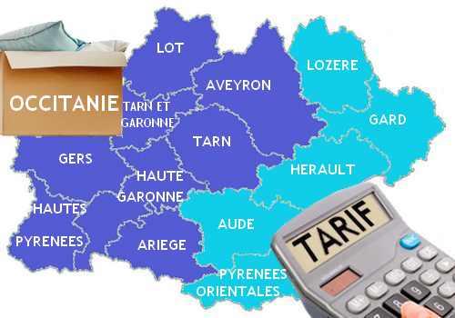 tarif déménagement occitanie