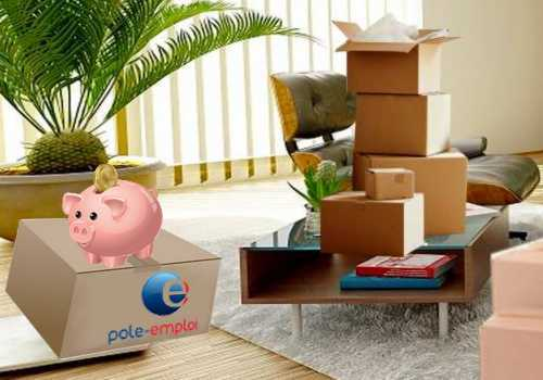 déménagement avec pôle emploi
